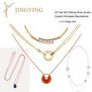 925 sterling silver earrings fine jewelry custom OEM manufacturer